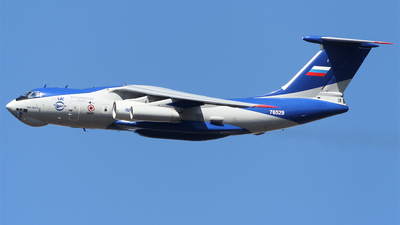 76529 - Ilyushin IL-76LL - Russia - Gromov Flight Research Institute