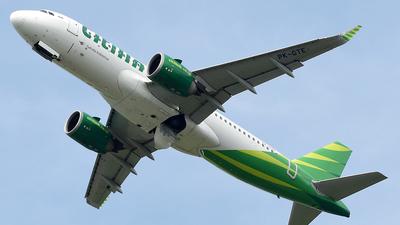PK-GTE - Airbus A320-251N - Citilink
