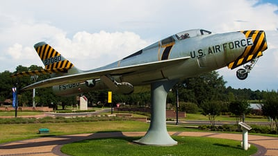 52-7080 - Republic F-84F Thunderstreak - United States - US Air Force (USAF)
