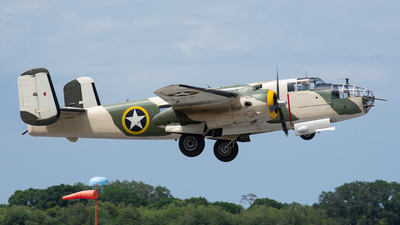 N62163 - North American B-25J Mitchell - Private