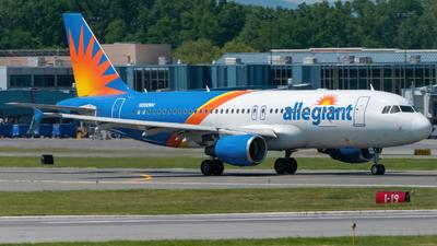 A picture of N260NV - Airbus A320214 - Allegiant Air - © Hudson Garber