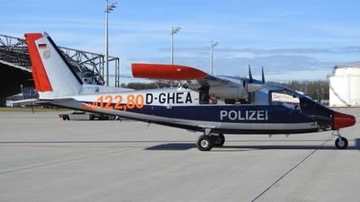 D-GHEA - Vulcanair P-68 Observer 2 - Germany - Police