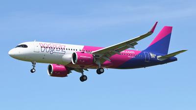 F-WWBQ - Airbus A320-271N - Wizz Air