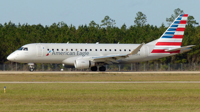 N413YX - Embraer 170-200LR - American Eagle (Republic Airways)