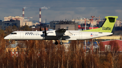YL-BAY - Bombardier Dash 8-Q402 - Air Baltic