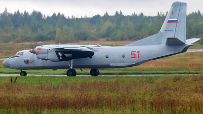 RF-92953 - Antonov An-26 - Russia - Air Force
