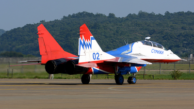 02 - Mikoyan-Gurevich MiG-29 Fulcrum - Russia - Air Force