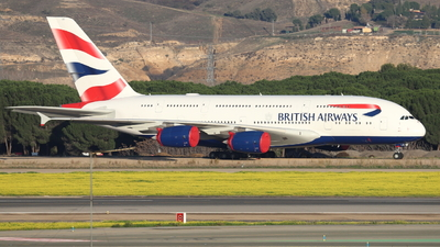 A picture of GXLEI - Airbus A380841 - British Airways - © Guille Gª del Alamo