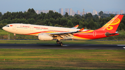 A picture of B6519 - Airbus A330243 - Hainan Airlines - © Jack Green