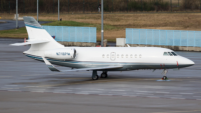 N718PM - Dassault Falcon 2000 - Private