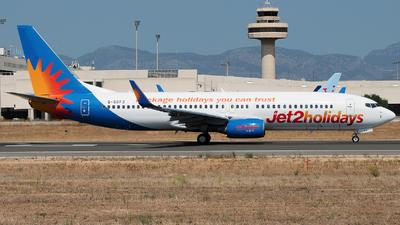 G-GDFZ - Boeing 737-86Q - Jet2.com