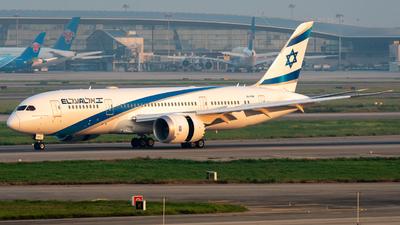 4X-ERB - Boeing 787-8 Dreamliner - El Al Israel Airlines