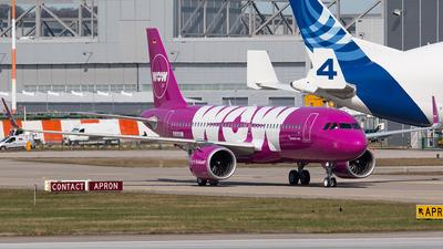 D-AUBC - Airbus A320-251N - WOW Air