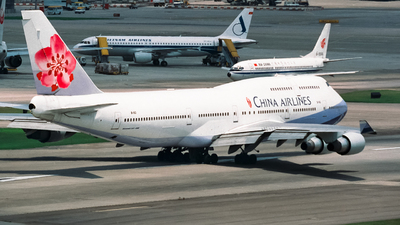 B-163 - Boeing 747-409 - China Airlines