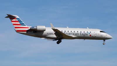 A picture of N249PS - Mitsubishi CRJ200LR - SkyWest Airlines - © wangruoyao
