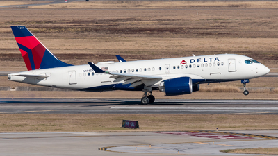 A picture of N114DU - Airbus A220100 - Delta Air Lines - © Positive Rate Photography