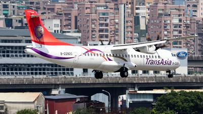 B-22820 - ATR 72-212A(600) - TransAsia Airways