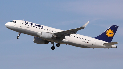 D-AIUQ - Airbus A320-214 - Lufthansa