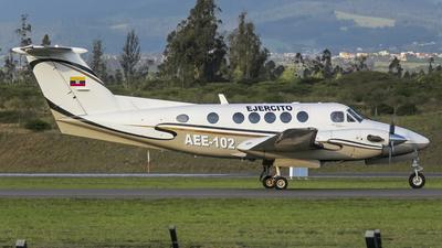 AEE-102 - Beechcraft B200 Super King Air - Ecuador - Army