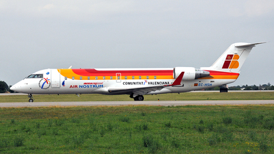 EC-HSH - Bombardier CRJ-200ER - Iberia Regional (Air Nostrum)
