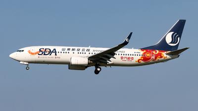 B-1986 - Boeing 737-85N - Shandong Airlines
