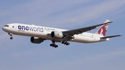 A7-BAF - Boeing 777-3DZER - Qatar Airways