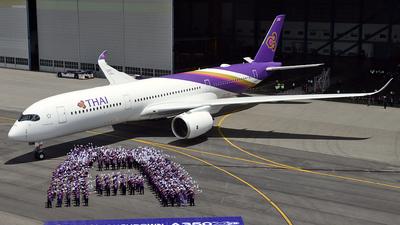 HS-THB - Airbus A350-941 - Thai Airways International