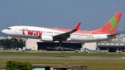 HL8047 - Boeing 737-8BK - T'Way Air