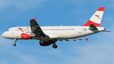 D-ABZJ - Airbus A320-216 - Austrian Airlines (Air Berlin)