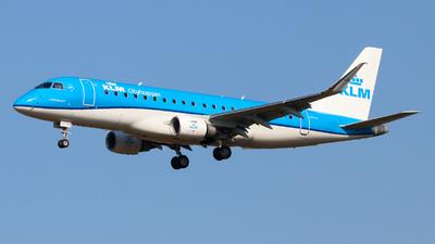 A picture of PHEXH - Embraer E175STD - KLM - © Sebastien David