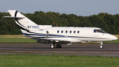 N770CC - Raytheon Hawker 800XP - Private