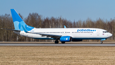 A picture of VQBWH - Boeing 7378LJ - Pobeda - © Andrei Kurach