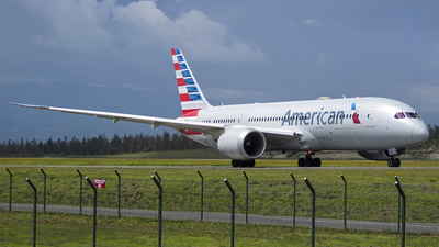A picture of N814AA - Boeing 7878 Dreamliner - American Airlines - © Diogo Da Conceição