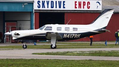N417RK - Piper PA-46-350P Malibu Mirage - Private