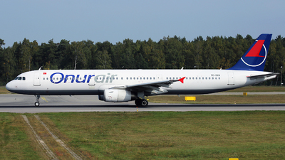 TC-OEB - Airbus A321-231 - Onur Air