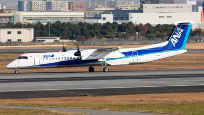 A picture of JA461A - De Havilland Canada Dash 8400 - All Nippon Airways - © Sebastian Sowa