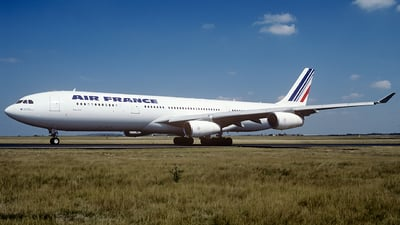 F-GNIF - Airbus A340-313X - Air France