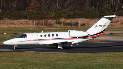 G-SDRY - Cessna 525C CitationJet 4 - Private