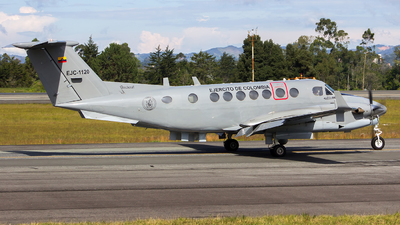 EJC1120 - Beechcraft B300C King Air 350C - Colombia - Army