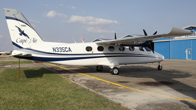 N335CA - Tecnam P2012 Traveller - Cape Air