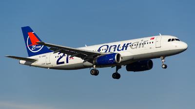 TC-OBN - Airbus A320-232 - Onur Air