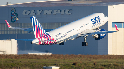 A picture of SXIOG - Airbus A320251N - Sky Express - © Kostas Marmarelis