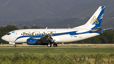 LY-AWE - Boeing 737-522 - Scat Air Company