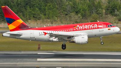 N597EL - Airbus A318-111 - Avianca
