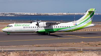 EC-KYI - ATR 72-212A(500) - Binter Canarias