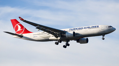TC-JIS - Airbus A330-223 - Turkish Airlines