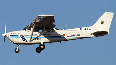 JA393A - Cessna 172S Turbo Skyhawk JT-A - Japan - Coast Guard