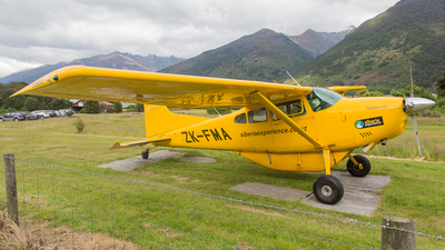 ZK-FMA - Cessna 185 Skywagon - Southern Alps Air