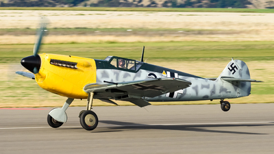 G-BWUE - Hispano HA1112 M1L Buchon - Private
