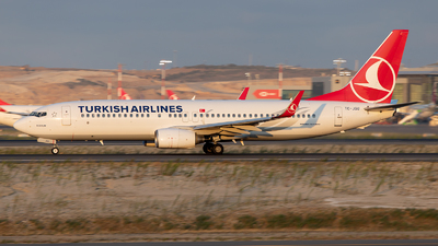 TC-JGU - Boeing 737-8F2 - Turkish Airlines
